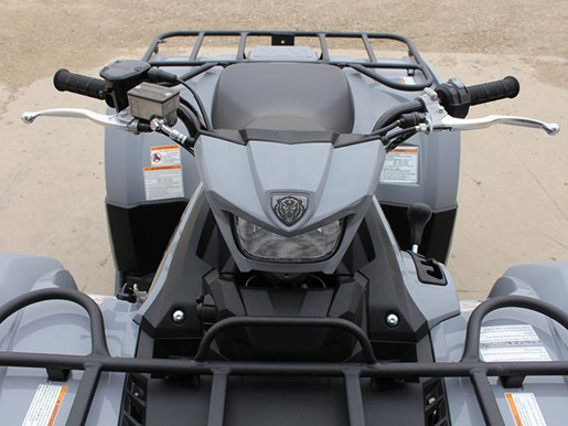 2018 Yamaha Kodiak 450 EPS Gray (aluminum mag wheels Photo 3 of 9