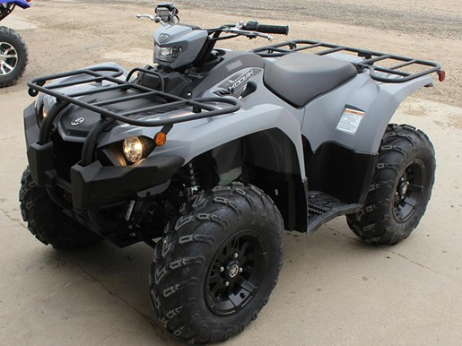 2018 Yamaha Kodiak 450 EPS Gray (aluminum mag wheels Photo 4 of 9