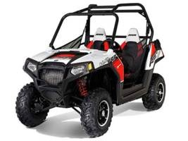 2012 Polaris Ranger® RZR 800 Walker Evans White/Black Photo 1 of 1