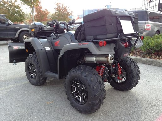 2018 Honda TRX500 Rubicon DCT Deluxe with Snowplow, Photo 5 of 6