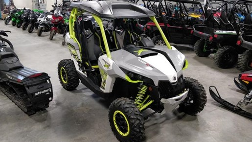 2015 Can-Am Maverick™ X® ds 1000R Turbo White, Light Photo 8 of 9