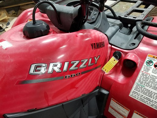 2004 Yamaha Grizzly Photo 7 of 8