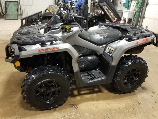 2015 Can-Am Outlander™ XT™ 1000 Brushed Aluminum Photo 3 of 3