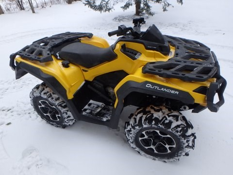 2013 Can-Am outlander Photo 4 of 8
