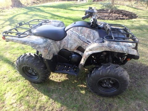2014 yamaha Grizzly Photo 7 of 10