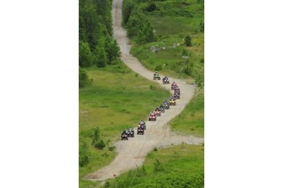 atv trail ride line