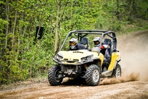 side by side ride can am