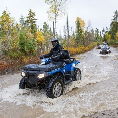 Destination Polaris Sportsman Blue