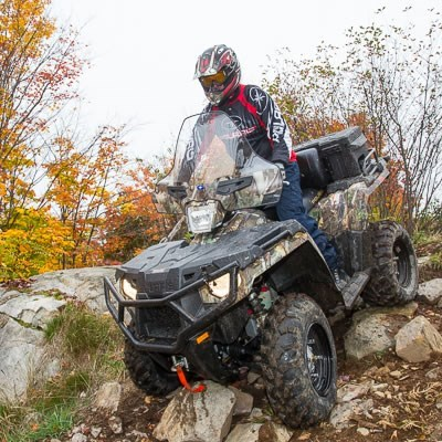 Destination Polaris Sportsman Camo
