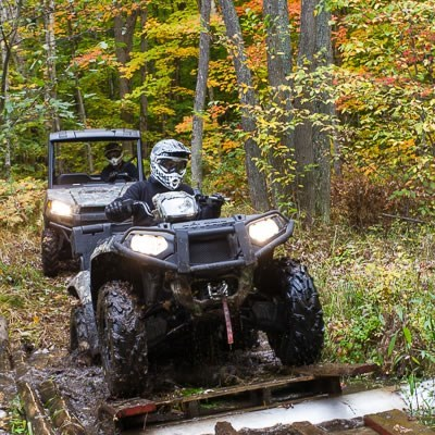 Destination Polaris Sportsman Climbing