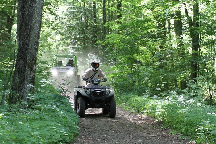 EOTA forest trails atvs and side by sides