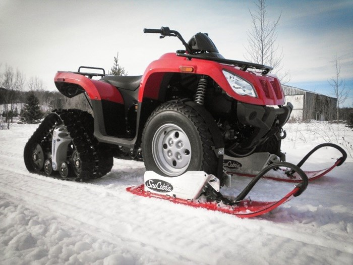 Winter ATV Shawn Hynes Snow Cobra