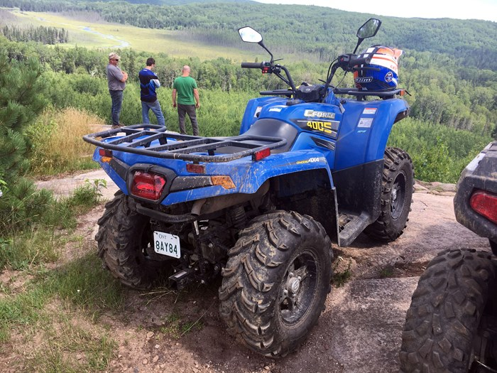 CFMOTO CForce 400 Review Madawaska Valley ATV Trails Ontario