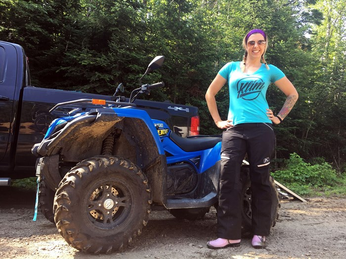 Taking the CFMOTO CForce 400LX For a Spin in the Madawaska