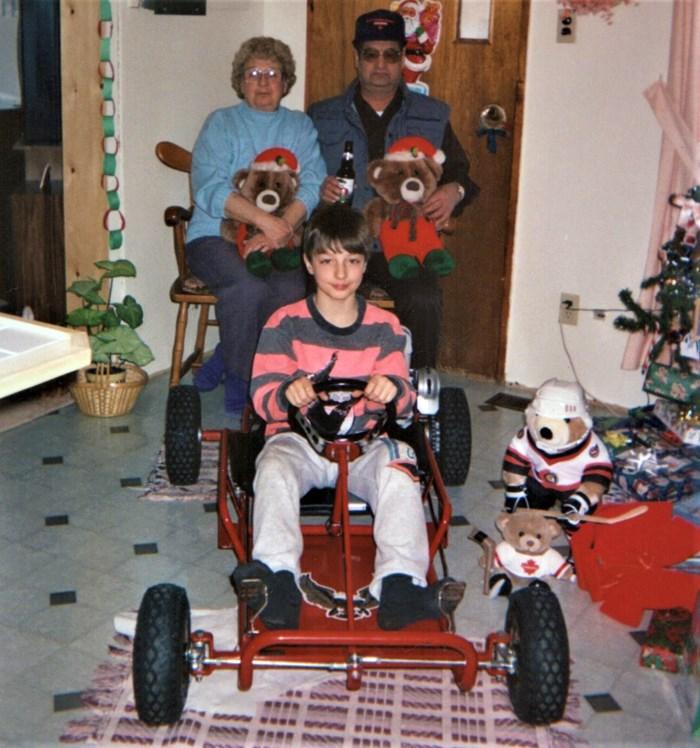 David Bouthillier Go Kart