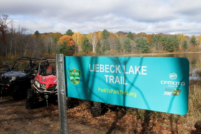 liebeck lake trails