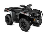 Can-Am Outlander™ XT™ 650 Brushed Aluminum 2017