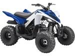 2018 Yamaha Raptor 90 Yamaha Blue