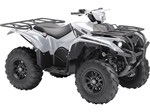 2018 Yamaha Kodiak 700 EPS SE Light Metallic Gray