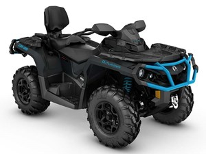Can-Am Outlander MAX XT 850 Matte Black / Octane Blue 2016