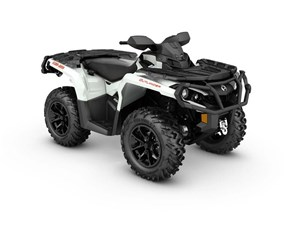 Can-Am Outlander XT 650 Pearl White / Black 2017