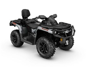 Can-Am Outlander MAX XT 650 Brushed Aluminum 2017