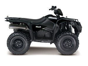 Suzuki KingQuad 500AXi Power Steering - Matte Black 2016