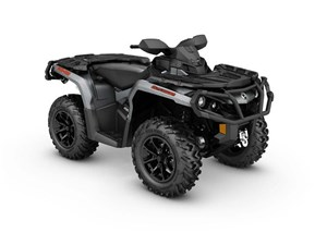 Can-Am Outlander XT 650 Brushed Aluminum 2017
