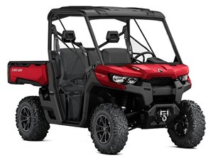 Can-Am Defender XT HD8 Intense Red 2017
