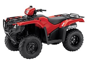 Honda FourTrax Foreman 4x4 Red (TRX500FM1) 2017