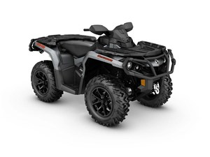 Can-Am Outlander XT 850 Brushed Aluminum 2017