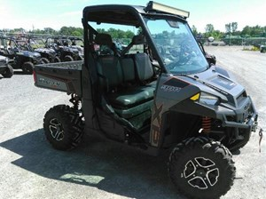 Polaris Ranger XP 900 EPS - Titanium Matte Metallic LE 2014
