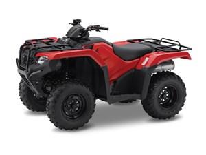 Honda TRX420 Rancher Red 2017