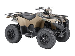 Yamaha Kodiak 450 EPS Beige with camo graphics (steel whe 2018