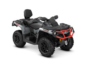 Can-Am Outlander™ MAX XT™ 850 Brushed Aluminum & Can-Am R 2018