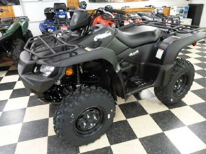 Suzuki KingQuad 750AXi Power Steering Matte Black 2018