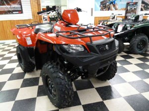 Suzuki KingQuad 500AXi - Flame Red 2017