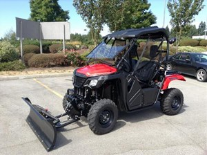 Honda Pioneer 500 Patriot Red 2017