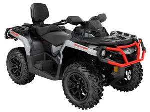 Can-Am Outlander MAX XT 850 Brushed Aluminum / Can-Am Red 2018