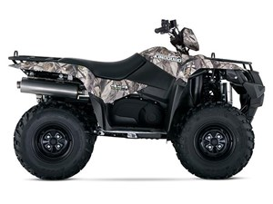 Suzuki KingQuad 500AXi Power Steering Camo 2018