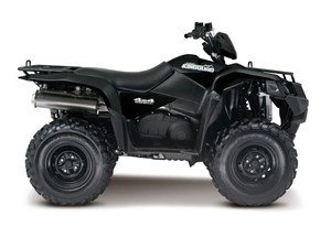 Suzuki KingQuad 500AXi Power Steering Black 2018
