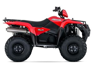 Suzuki KingQuad 500AXi Power Steering Red 2018