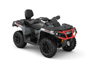 Can-Am Outlander™ MAX XT™ 650 Brushed Aluminum & Can-Am R 2018