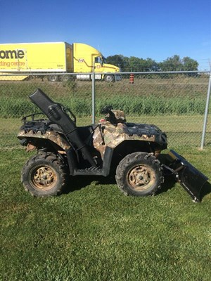 Polaris Sportsman XP 850 H.O. EPS Browning Pursuit Camo LE 2013