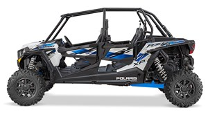 Polaris RZR XP 4 TURBO EPS MATTE WHITE LIGHTNING / 120$/se 2016