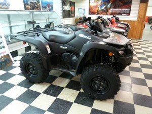 Suzuki KingQuad 500AXi Power Steering Matte Black 2018