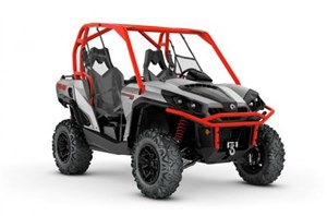 Can-Am Commander™ XT™ 800R Brushed Aluminum & Can-Am Red 2018