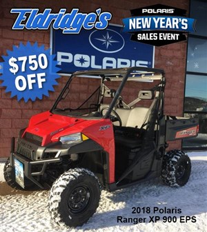 Polaris Ranger XP 900 EPS Solar Red 2018
