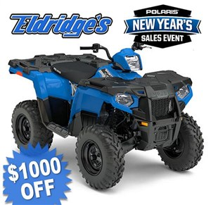 Polaris Sportsman 450 H.O. Velocity Blue 2018
