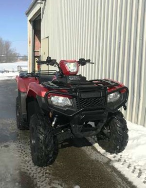 Honda TRX500 Rubicon DCT IRS EPS Red 2017